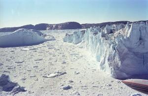 Forskere har fundet to nye søer under Grønlands indlandis. Foto: Michael Haferkamp
