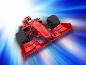 Brølet fra racerbiler kan bliver til en ringetone i rigtig lang tid. Grafik: Kirsty Pargeter