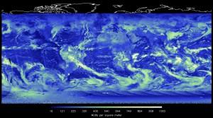 Der er fejl i de klimamodeller, der forudser små temperaturstigning. De overvurderer skydannelsen. Foto: NASA/NOAA/CERES Team