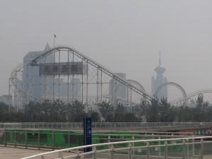 Luftforureningen i Kinas millionbyer skal måske bekæmpes med kunstigt regnvejr. Foto: Sam Hakes