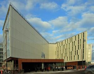 FN byen i København får hvide tage. Foto: Ernst Poulsen
