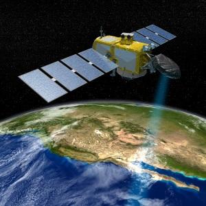 Med satellitter kan forskerne måle havniveauet i Stillehavet og ad den vej får styr på de aktuelle klimaændringer. Billede NASA JPL-Caltech