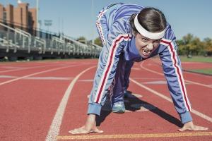 Løb og anden motion ændrer din tarmflora, så der kommer flere bakterier, som producerer stoffer, du har gavn af. Foto: Pixabay.
