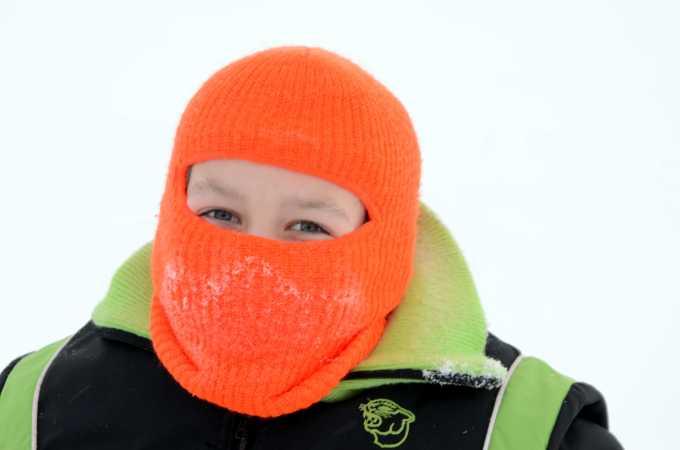 Oliver på ni år besøger Svalbard.