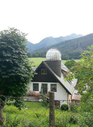 Teleskop på hus