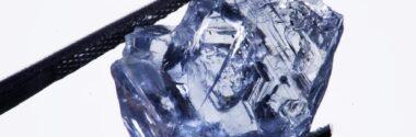 Blå diamant fra Cullinan Minen
